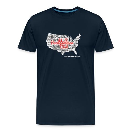 US Backgammon Club - Men's Premium T-Shirt