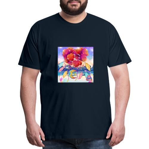 Roses of Love - Men's Premium T-Shirt