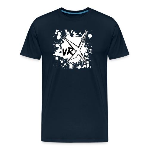 VRX White Paint logo - Men's Premium T-Shirt