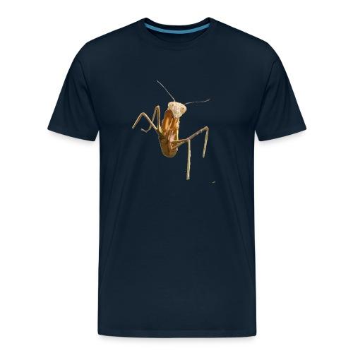 praying mantis - Men's Premium T-Shirt