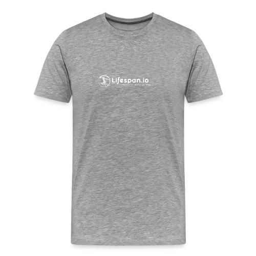 Lifespan.io in white 2021 - Men's Premium T-Shirt