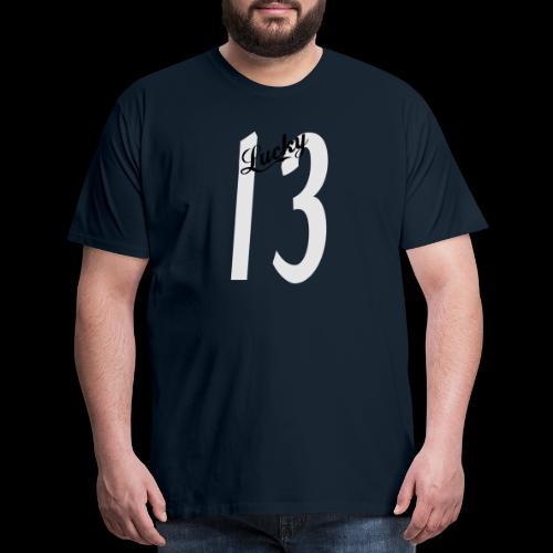 Lucky Thirteen - Men's Premium T-Shirt