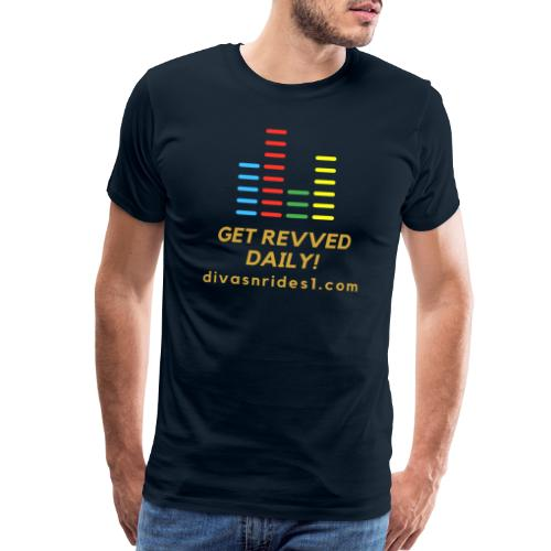 RevvedWithDNR01 - Men's Premium T-Shirt