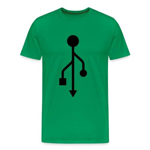 USB - Men's Premium T-Shirt