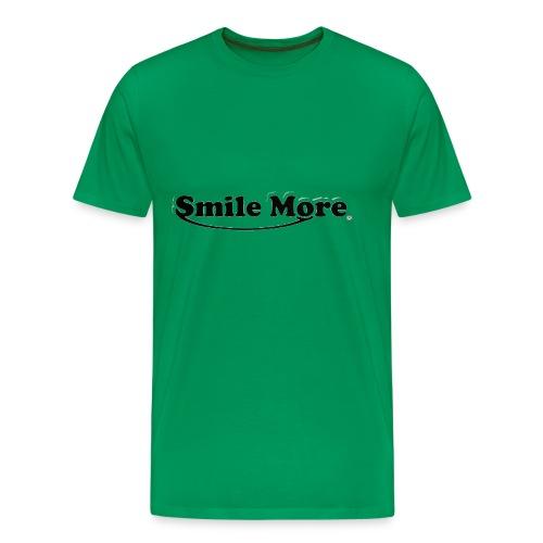 ROMAN ATWOOD SMILE MORE DESIGN ORIGINAL - Men's Premium T-Shirt