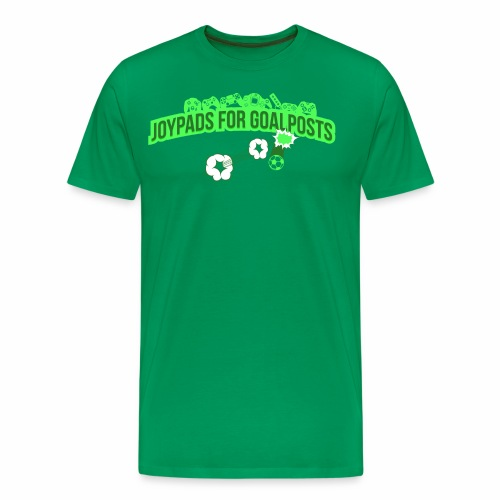 Joypads for Goalposts Classic Logo - Men's Premium T-Shirt