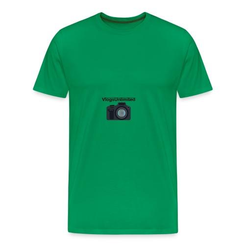 VlogsUnlimited Logo Design - Men's Premium T-Shirt