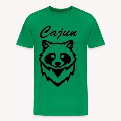 see throw cajun coon icon - Men's Premium T-Shirt