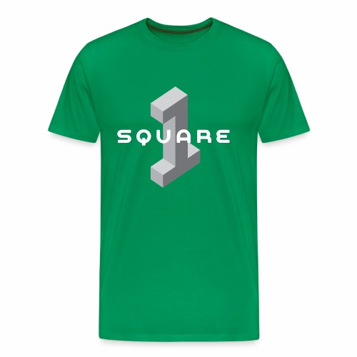 Square One Logo - Men's Premium T-Shirt