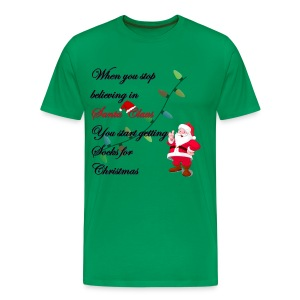 Believe in Santa - Men's Premium T-Shirt