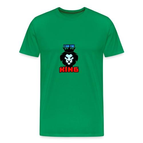I am the King Logo - Men's Premium T-Shirt