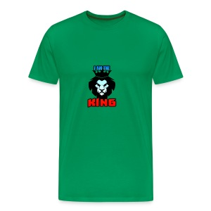 I am the King Logo - Men's Premium T-Shirt