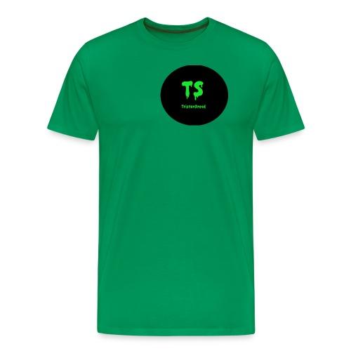 Tristan Snead Zombie Logo - Men's Premium T-Shirt