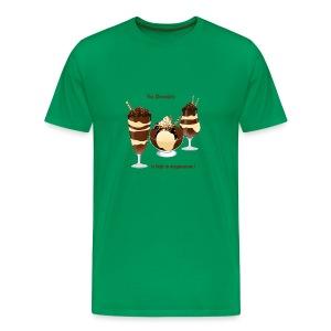 chocolate - Men's Premium T-Shirt
