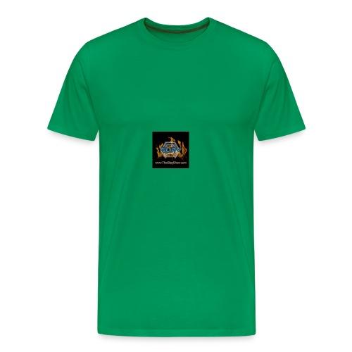 Slipy Show Logo - Men's Premium T-Shirt
