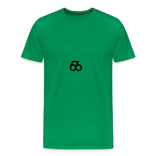 586 Black Logo - Men's Premium T-Shirt