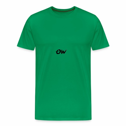 Simple Letter Logo Design - Men's Premium T-Shirt