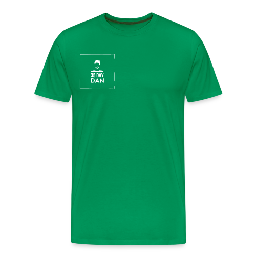 35DD Male White - Men's Premium T-Shirt