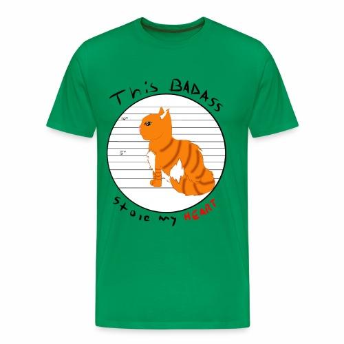 Badass kitty - Men's Premium T-Shirt