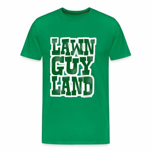 Lawn Guy Land New York - Men's Premium T-Shirt