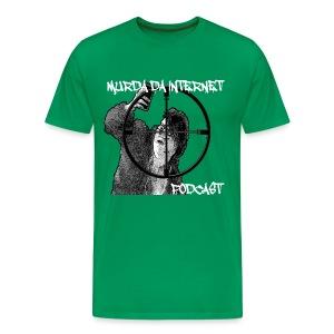 murda da friggin internet podcast. hell yea - Men's Premium T-Shirt