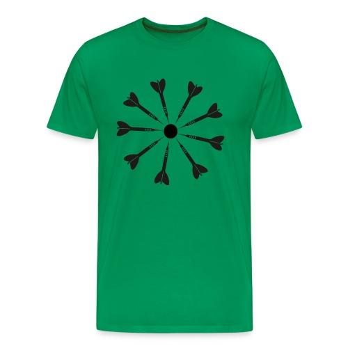 9 Darts Dart Shirt - Men's Premium T-Shirt