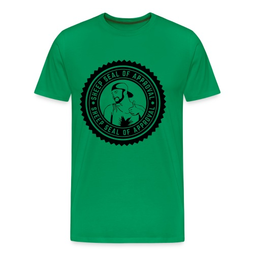 Sheep Seal Of Approval (Limited Edition) - Men's Premium T-Shirt