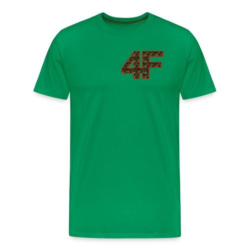 4-F Camouflage - Men's Premium T-Shirt