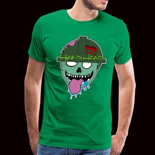 hard head zombie - Men's Premium T-Shirt