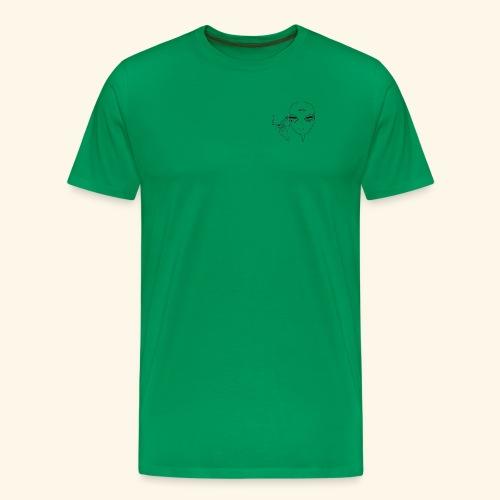 JFA Smoking alien - Men's Premium T-Shirt