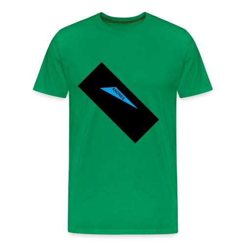 Andres like a boss - Men's Premium T-Shirt