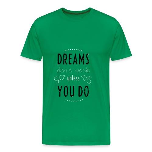 DREAMS Background - Men's Premium T-Shirt