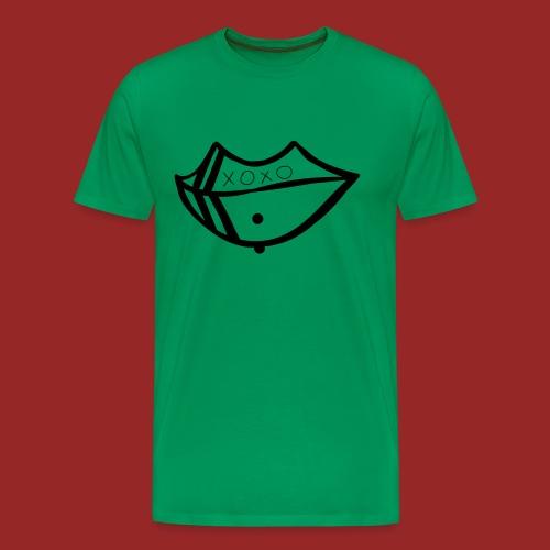 pierced lip - Men's Premium T-Shirt