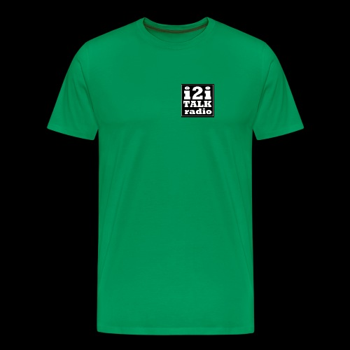 I2Iblacklogo - Men's Premium T-Shirt