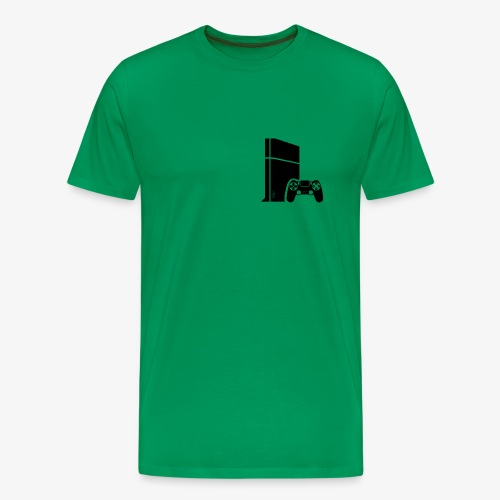 Logo PS4 - Men's Premium T-Shirt