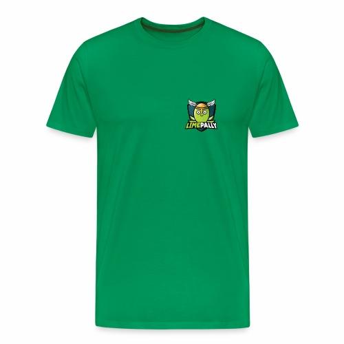 Limepally's Logo - Men's Premium T-Shirt