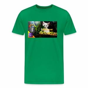 Frostbyte the YouTube kitty - Men's Premium T-Shirt