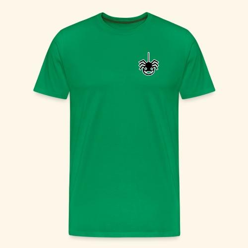 funny spider hanging - Men's Premium T-Shirt