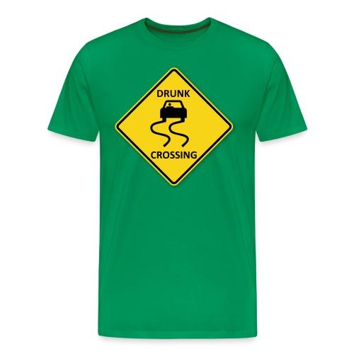 Drunk Crossing - Men's Premium T-Shirt