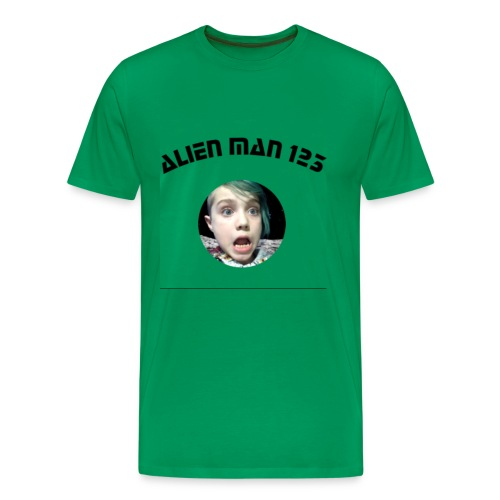 Alien man 123 - Men's Premium T-Shirt
