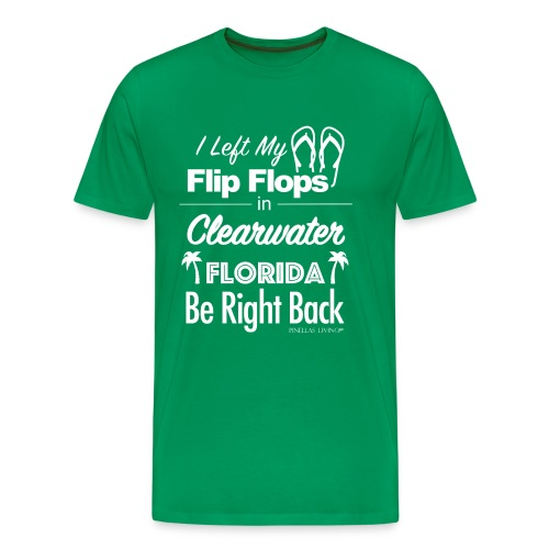 Clearwater Flip Flops - Men's Premium T-Shirt