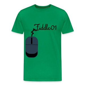 Fiddle01 Mouse Design - Men's Premium T-Shirt