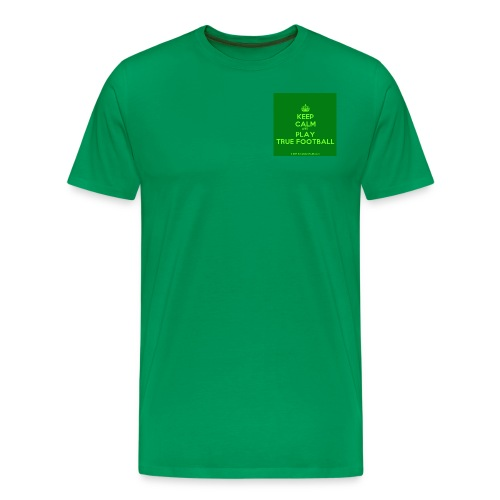 KeepCalmStudio com Crown Keep Calm And Play True - Men's Premium T-Shirt