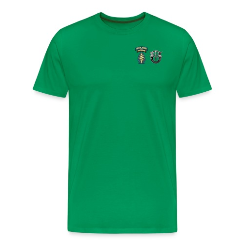 U S Army Special Forces Green Berets SSI DUI - Men's Premium T-Shirt