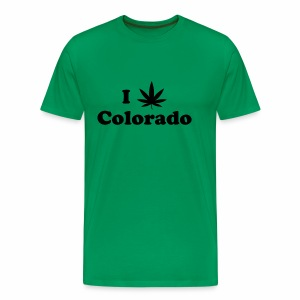 colorado weed - Men's Premium T-Shirt