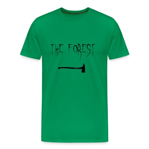 the forest , game axe - Men's Premium T-Shirt
