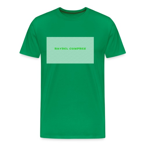 Raydel Compres Green T-Shirt - Men's Premium T-Shirt