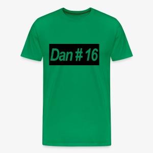 Dan # 16 Classic Logo - Men's Premium T-Shirt