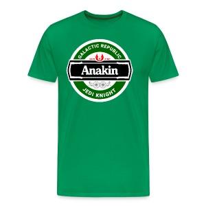 Beer Wars - Anakin - Men's Premium T-Shirt