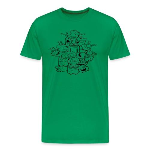 Googly Dudes - Men's Premium T-Shirt